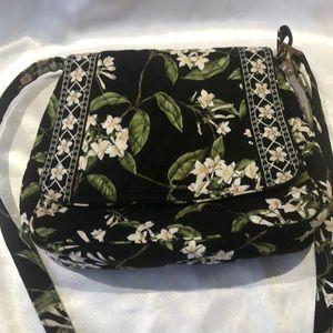 Vera Bradley Jasmine Crossbody Shoulder Handbag